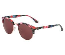 Sonnenbrille - rose/black