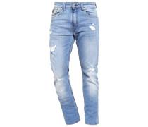 BROZ Jeans Straight Leg fripe destroy