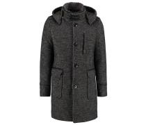 Wollmantel / klassischer Mantel black melange