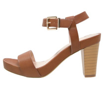 WHIP Plateausandalette brown