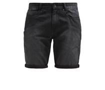 OUTSIDER Jeans Shorts black overdye