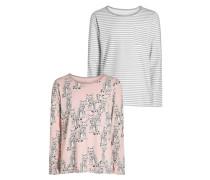 Nachtwäsche Shirt pink