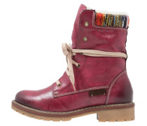 Snowboot / Winterstiefel wine/kastanie/orange/multicolor