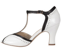 Pumps white/black