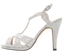 DURCAL High Heel Sandaletten silver
