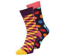 2 PACK Socken pink/dark blue