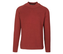ANTONIO Strickpullover dark rust