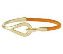 SUSAN - Armband - gold-coloured/orange