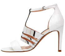 LIA High Heel Sandaletten summer white/silver