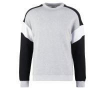 Sweatshirt - black/white/mottled grey