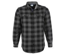 HOYT PEAK Hemd black plaid