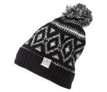 Mütze black/grey/white