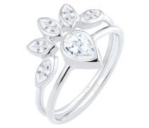 SET Ring silvercolored