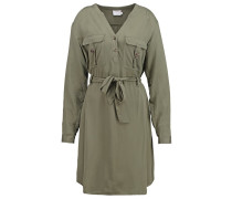 ARLYNE Blusenkleid dusty army