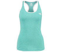 PLAY HARD - Top - agate green heather