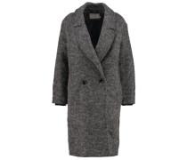 FIRENE Wollmantel / klassischer Mantel light grey