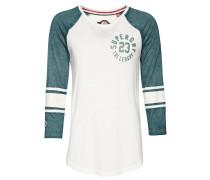 Langarmshirt - off white/pine