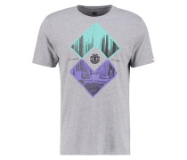 INTERSECT REGULAR FIT - T-Shirt print - grey heather