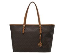 JET SET TRAVEL - Handtasche - brown