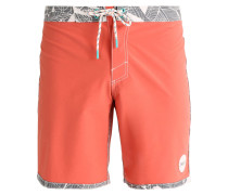 RETROFREAK FRAME Badeshorts burnt sienna