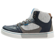 Sneaker high dark blue