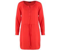 Blusenkleid hot red