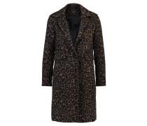 Wollmantel / klassischer Mantel brown