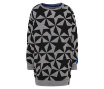 Sweatshirt grey melange/black