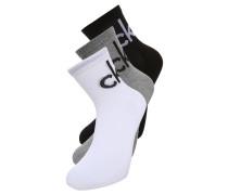 3 PACK Socken grey heather/white/black