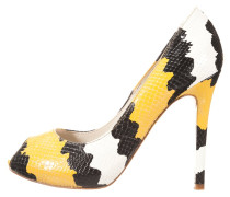 High Heel Peeptoe yellow