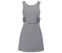 Jerseykleid marine/ecru