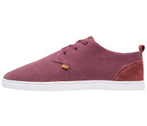LOWLAU HEMP - Sneaker low - burgundy