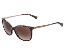 Sonnenbrille dark brown/gold