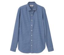 Hemd - medium blue