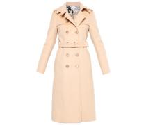 Wollmantel / klassischer Mantel - beige