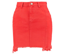 Jeansrock - red