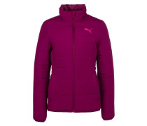 Winterjacke magenta purple