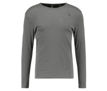 GStar BASE R T L/S 1PACK SLIM FIT Langarmshirt gs grey