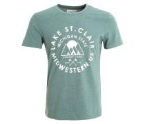 T-Shirt print - green mel