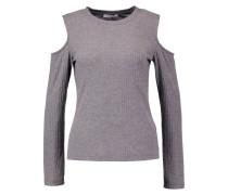 PCEVA - Langarmshirt - medium grey melange