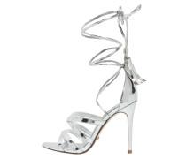 MUNROE High Heel Sandaletten silver metallic