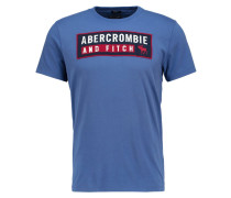RETRO TECH MUSCLE FIT TShirt print med blue