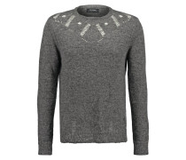 BRAVERY Strickpullover charcoal