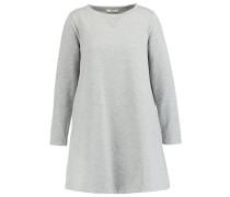 TIKEYA - Jerseykleid - grey melange