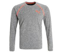 Langarmshirt dark gray heather