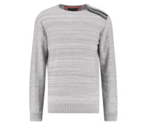 GODFREY Strickpullover grau mix