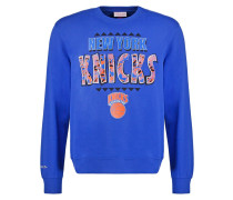 RUNNING OUT THE CLOCK Sweatshirt blue
