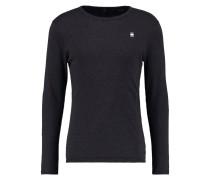 GStar DILL R T L/S Langarmshirt black heather
