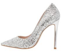 ALICE - High Heel Pumps - silver glitter