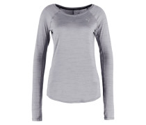 REBEL Funktionsshirt medium gray heather